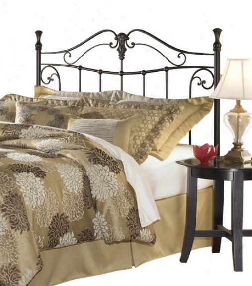 Lenore Transitional Gilded Bronze Finish Headboard For Queen Size Bed