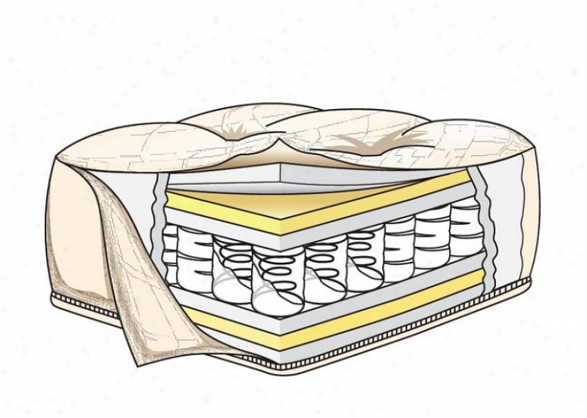 Queen Size Futon Mattress Pocketed Coil Order In Burgundy Plea