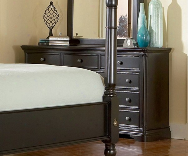 Sahara Bedroom Assemblage Espresso Finish Dresser