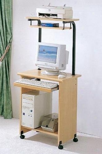 Standard Rolling Computer Workstation Center Desk