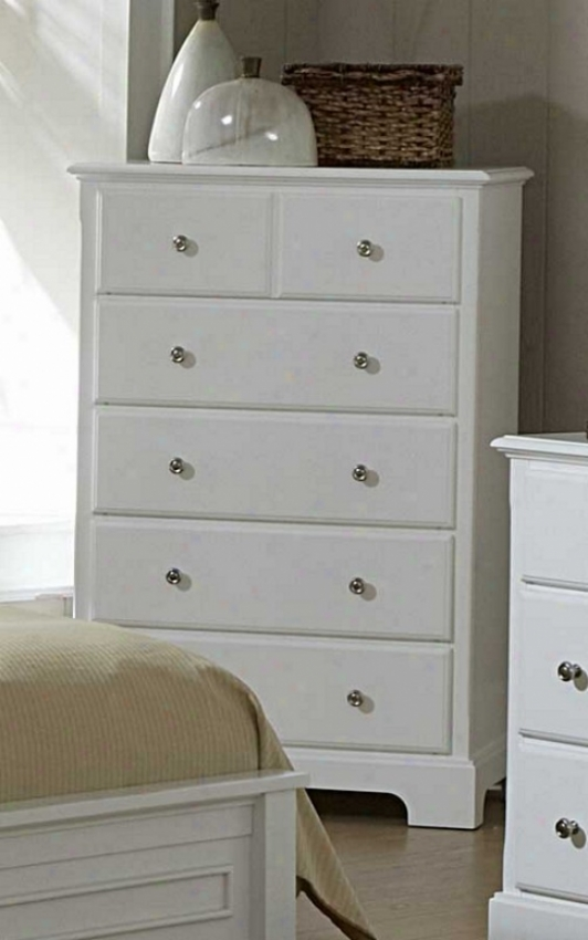 Storage Chest Cottage Style In White Perfect