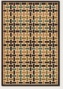 2'4&quot X 11'9&quot Runner Area Rug Weave Pattern In Sand And Brown