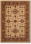8'2&quot X 11'5&quot Traditional Persian Floral Motifs Cream-red Area Rug
