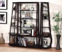 Single Design Edprwsso Finish Five Shelves Bookcase Set