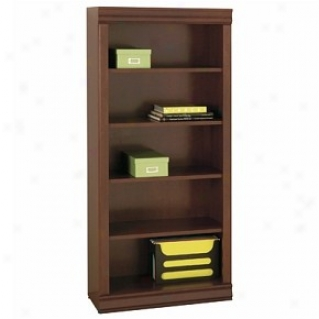 Orally transmitted Style Classic Cherry Finish Bookcase