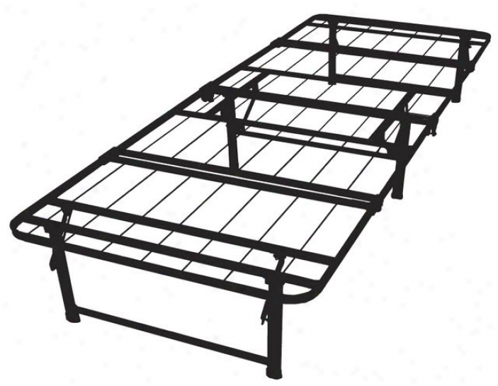 Twin Xl Size Quad-fold Folding Bed Frame