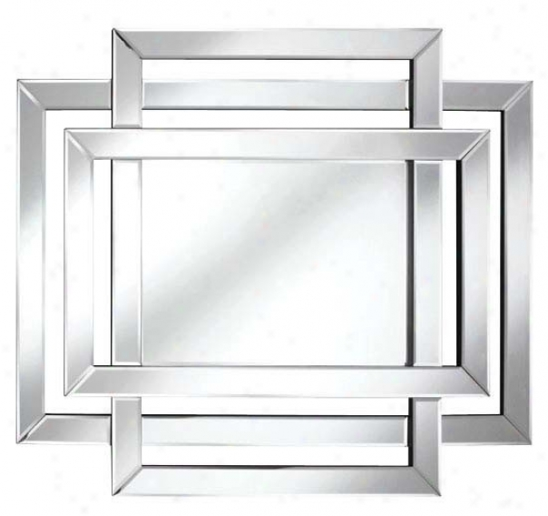 Wall Mirror Modern Style With Framelews Design