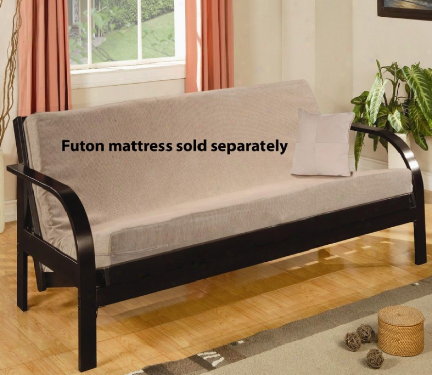 Forest Futon Construct Casual Style Cappuccino Finish