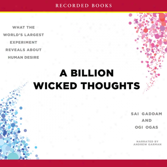 A Billion Wicked Thoughts: What The World's Largest Make ~ Reveals About Human Desire (unabridged)