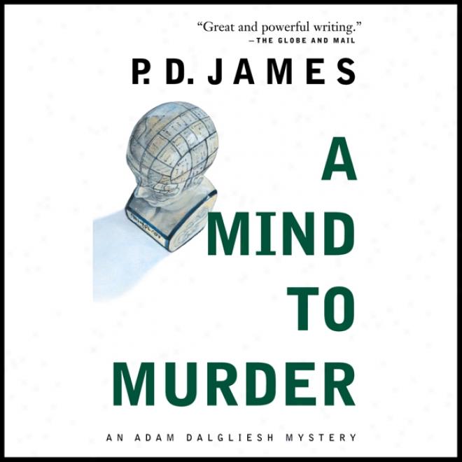 A Mind To Murder (unabridged)