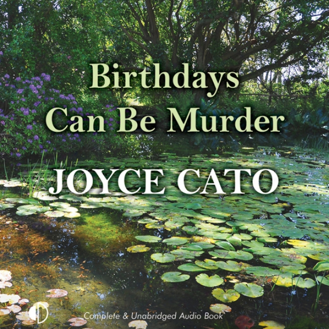 Birthdays Can Be Murder (unabridged)