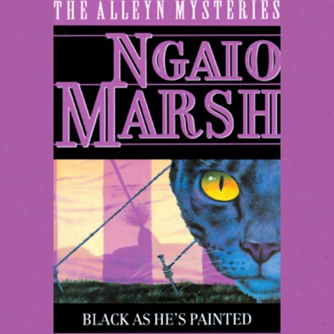Black As He's Painted (unabridged)