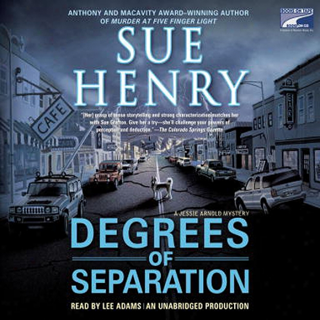 Degrees Of Separation: A Jessie Arnold Mystery Series (unabridged)
