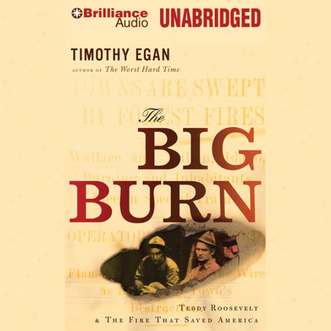The Big Glow: Teddy Roosevelt And The Fire That Saved America (unabridged)