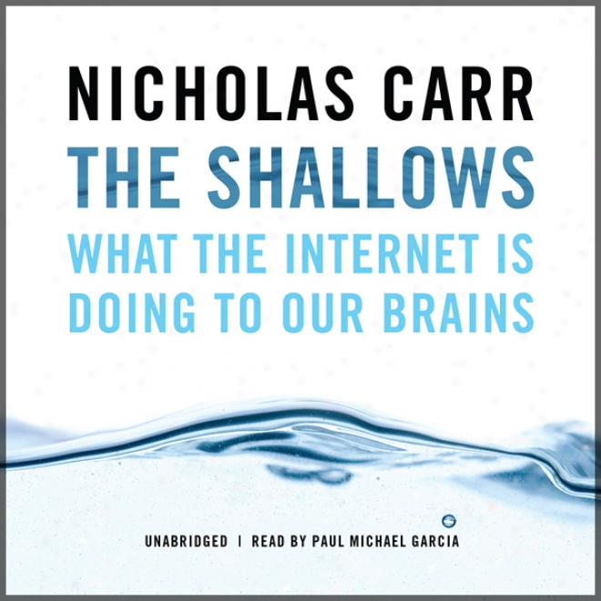 The Shallows: What The Internet Is Doing To Our Brains (unabridged)