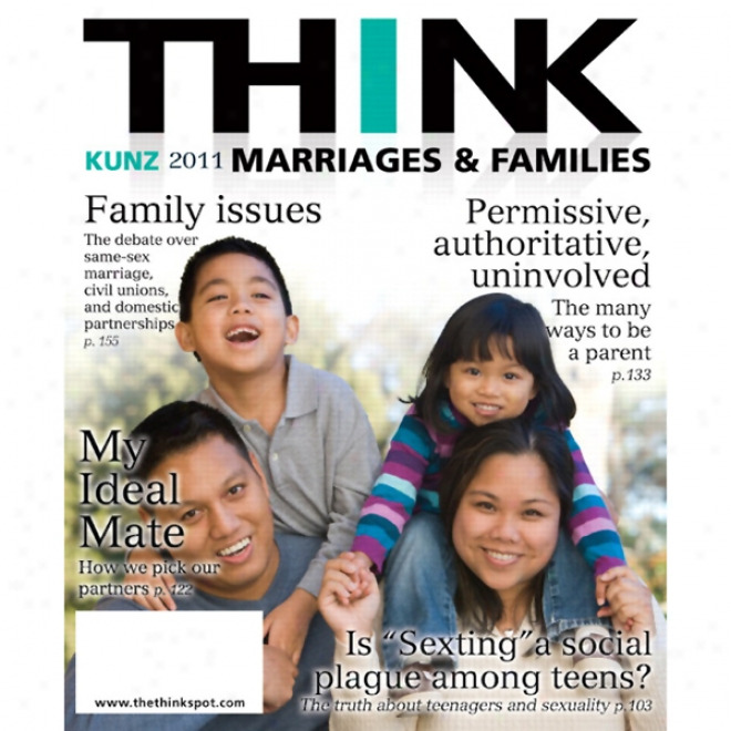 Think Marriages & Families (unabridged)
