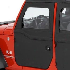 2-piece Front Doors Black Diamond Bestoop