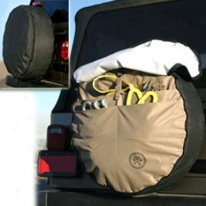 33 Inch Joey Pack Tire Cover With Tool Carrier Pockets