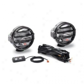 """5-1/4"""" Dual Beam Driving-spot Lights, 100,000 Candlepower"""