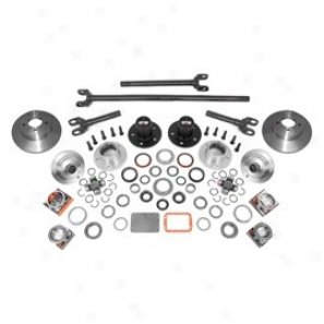 Alloy Usa D30 Manual Locking Hub Complete Conversion Kit