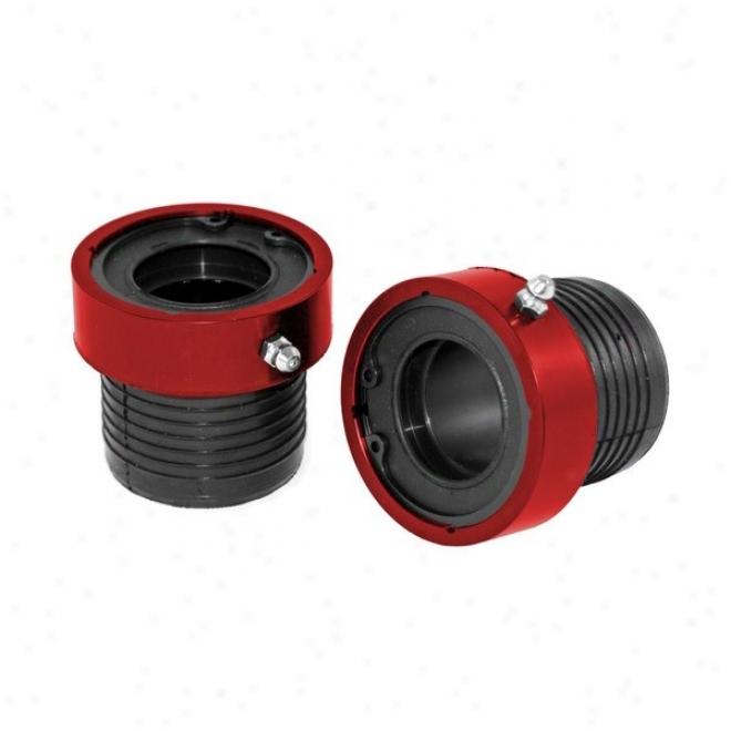 Alloyy Usa Grande Axle Tube Seals, Red