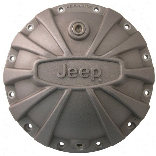 American Rebel, Outlaw Differential Cover (with Jeep Logo, Sandbllast)