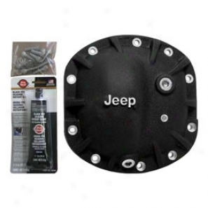 American Rebel, Outlaw Differential Cover (with Jeep Logo, Black)