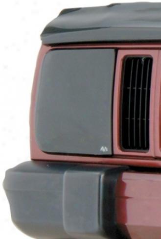 Auto Ventshade Tinted Headlight Covrr Set