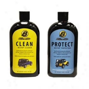 Bestop Cleaner And Protectant - 2-pack