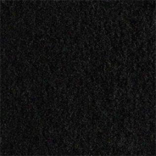 Black Heap Backed Complete Carpet Set