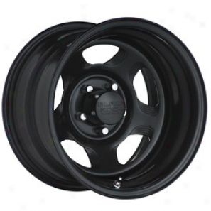 """black Rock Steel Wheel 941 Dune Matte Black 15x10"""" - 5x4.5 Swallow  Pattern Back Spacing 4"""""""
