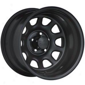 """""""black Rock Steel Wheel 942 Type D 15x8"""""""" 5x4.5 Bolt Pattern Back Spaclng 3 3/4"""""""""""""""