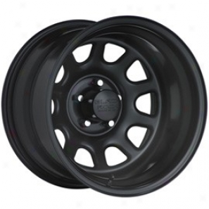 """black Rock Steel Wheel 942 Type D 15x8"""" 5x4.5 Bolf Pattern Back Spacing 4 1/2"""""""