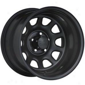 """""""black Lull Harden Wheel 942 Type D 16x8"""""""" 5x4.5 Bolt Pattern Back Spacing 4 1/4"""""""""""""""