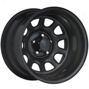 """black Rock Hardness Wheel 942 Type D 17x8"""" 5x5.5 Bolt Pattern Back Spacing 4 1/2"""""""