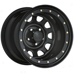 """black Rock Steel Wheel 952 Street Lock 15x8"""" 5x4.5 Sift Pattern Back Spacing 3 3/4"""""""