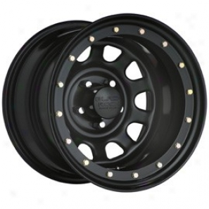 """black Rock Steel Wheel 952 Street Lockk 16x8"""" 5x4.5 Bolt Pattern Back Spacing 5"""""""