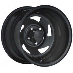 """black Lull Steel Wheel 975 Blade 15x7"""" 5x4.5 Bolt Pattern Back Spacing 4"""""""