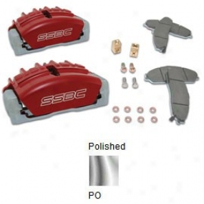 Caliper Assembly - Tri-power (polished)