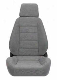 Corbeau Sport Reclining Seat Wide, Grey Cloth (pair)