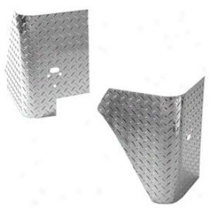 Corner Armor W/o Holes Treadbrite Alum