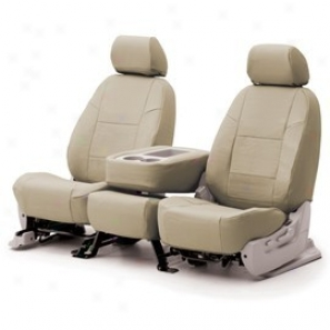 Coverking 3rd Row Seat Cover Genuine Leather Beige
