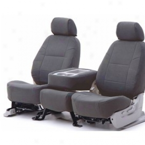 Coverking Front Highback Bucket Seat Cover Yes Essential Steel
