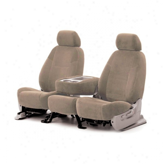Coverking Front Reclining Seat Cover Yes Essential Tan