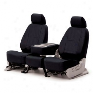 Coverking Middle Row Seat Cover Poly Cotton Black