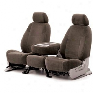 Coverking Middle Row Seat Cover Velour Dark Taupe