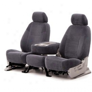Coverking Rear 60/40 Split Long seat Seat Cover Velour Charcoal
