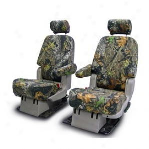 Coverking Rear Benc hSeat Cover Neoprene Realtree