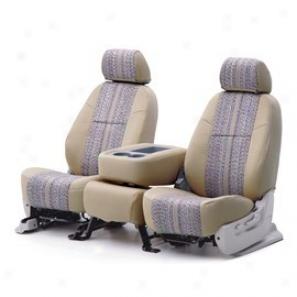 Coverking Rear Seat Cover Saddle Blanket Black/tan