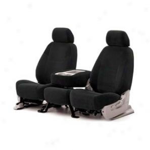 Coverking Rear Hard Bench Seat Cver Ballistic Black